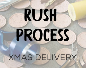 Rush Process Upgrade for Guaranteed Christmas Delivery for US Orders Only