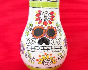Dia de los Muertos Vase