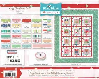 SALE!!!  Cozy Christmas Quilt Kit (KT2207)