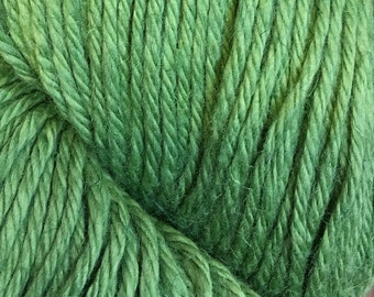 Green Tea Cascade Hampton Pima Cotton and Linen DK Weight Yarn color 10