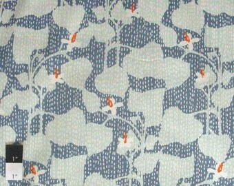 20% OFF SALE Dear Stella Vines Arctic Quilting Cotton Fabric By Yard
