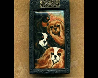 Cavalier King Charles Spaniel pin/brooch