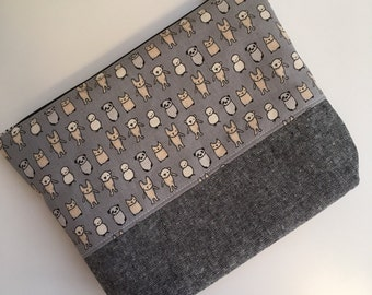 Cat Zipper Pouch Clutch