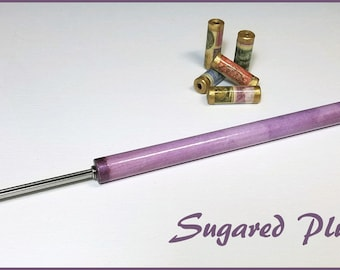 "Sugared Plum Paper Bead Roller / Tool from the Watercolor Collection - Your Choice 1/8"" or 3/32"" - Tutorial Included"