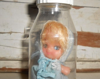 Vintage Bottle Baby Doll Toy