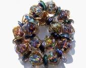 Crystal Purple 30 Beads  Fokal Bead, Beads, Unique pendant, Earring Beads, SRA