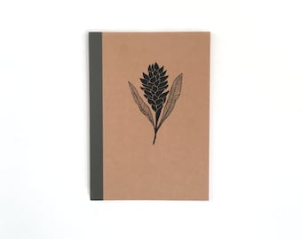 Medium Red Ginger Notebook