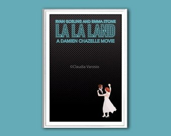 La La Land film poster print in various sizes