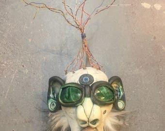 Clown, wall hanging, mask