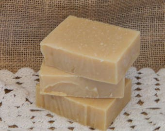 White Tea Goats Milk Cold Processed Handmade Soap