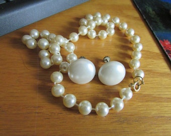 faux pearl jewelry