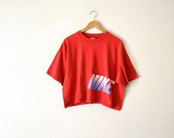 90's Nike Cropped T-Shirt