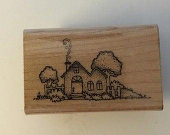 Vintage Hero Arts Wood Mounted Rubber Stamp. C544