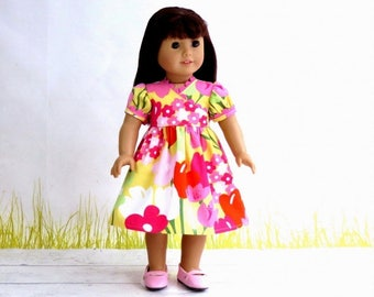 18 inch Doll Clothes M2M Gymboree Easter Dress, Summer Wrap Dress