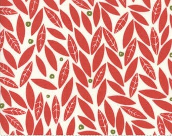 MODA Merrily Berry Red Holly 48212 12 by Gingiber