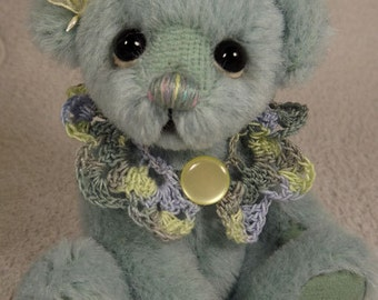 ON SALE.... ENYA..One of A Kind ArtistBear,  Collectable Mohair Artist Bear, by Valewood Bears, Artist Bear, Teddy Bear
