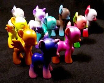 My Little Pony Custom Airbrushed Bait G4 Design YOUR OWN-Choose your colors/style