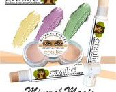 Natural and Organic Mineral Corrector Sticks     Non-comedogenic  Four Shades  Cruelty Free Makeup