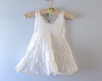 1950s Childs White Petticoat Size 5/6