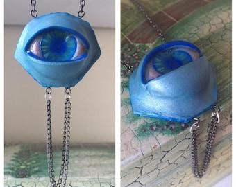 Atlantis Realistic Eye Pendant