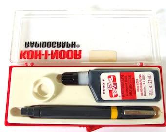 1 Pen Vintage Rapidograph by Kohinoor