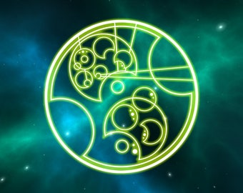 Custom Order Your Name in Gallifreyan - DIGITAL ITEM