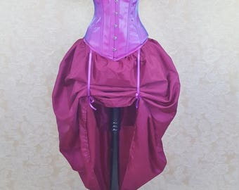 SALE Cheshire Cat Magenta Skirt and Shrug Set-One Size Fits All