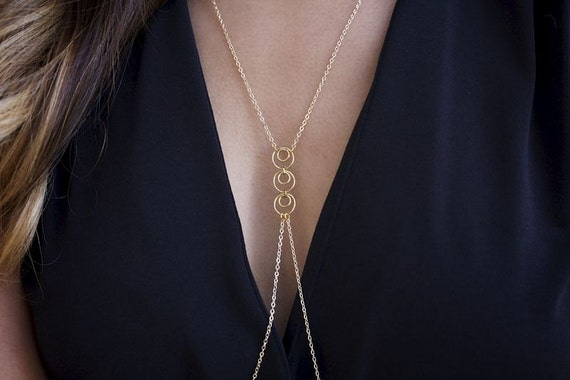 Trilogy Gold Filled Body Chain