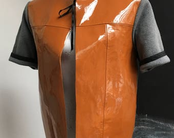 Upcycled Marni leather jacket