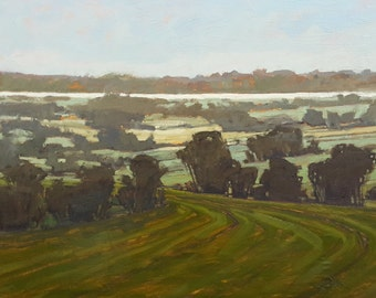 From Juniper Hill | Oil Painting | 24 x 48