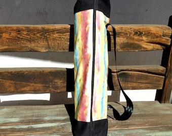 "Yoga Bag - with Zipper and Pocket- Manduka Pro Yoga Bag - Pilates Mat Bag - Large Yoga Bag   28"" long by 21"" around"