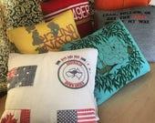 6 tshirt memory pillows - Cheyeanne