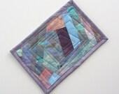 Mug Rug Snack Mat - Hand dyed fabric