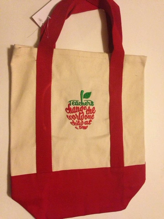 Teacher! Tote Bag for your special teacher can be personalized great gift