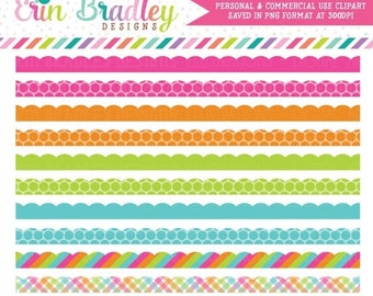 50% OFF SALE Rainbow Borders Clipart Commercial Use Clip Art Instant Download