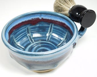 Wet Shave Dish - Wetshave Dish - Wetshaving Mug - Wetshave Mug - Clay Shaving Dish - Mug For Wet Shaving - Ceramic Shave Dish - In Stock
