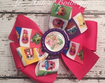 Shopkins Inspired Pinwheel Hairbow Shopkins Hairbow Children Accessories