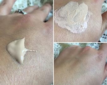 natural BB ARGAN Goat Milk Cream | Hyaluronic Acid | silk beauty balm | light to medium skin | lightweight foundation makeup tinted lotion