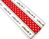 Pattern Magnet - Chart Keeper Magnetic Bookmark - Knitting Crochet Supplies Tools - Set of 3 - Crafted With Love