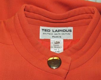 Ted Lapidus Boutique Haute Couture Paris dress