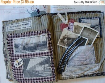ON SALE Vintage RailRoad Tracks for Altered art and Assemblage