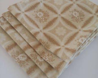 Cloth Napkins Shades of Beige
