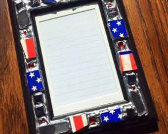 Stars & Stripes Picture Frame (holds a 4 x 6 photograph)