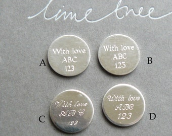 Engraving for our modern lockets