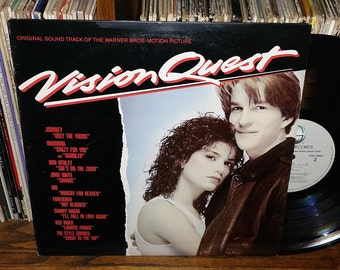 Vision Quest Vintage Vinyl Movie Sound Track Record