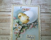 Easter Greeting Card Wall, Door Or Basket Decor On Sale
