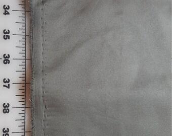Medium Khaki Olive Green Polyester fine twill over 1-1/4yds