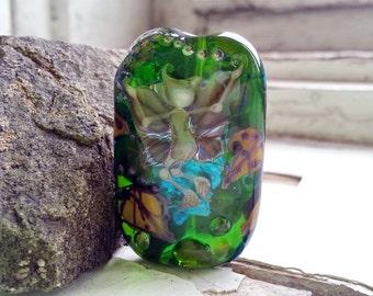 Focal Artisan Lampwork Glass Bead The