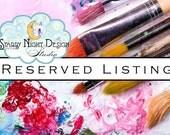 Aisle runner - Reserved listing for Christy