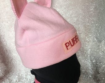 Womens March Pussy Cat Hat
